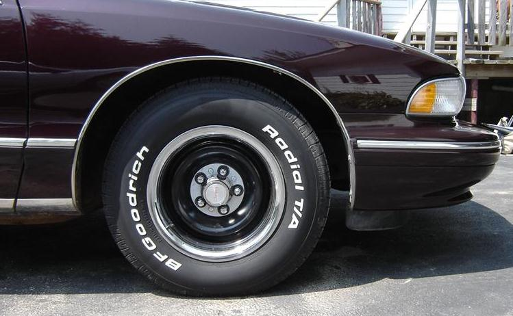 94 Caprice Police Rims http://www.impalaforums.com/wheels-and-tires/242948-police-look.html
